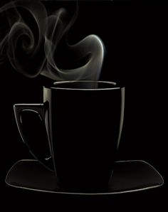 Black and White Photography I Love Coffee, Coffee Art, Black Coffee, Coffee Shop, Hot Coffee, Coffee Break, Coffee Time, Black Noir, Black N White