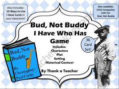 60 Best Bud Not Buddy Images Bud Gem 5th Grade Reading