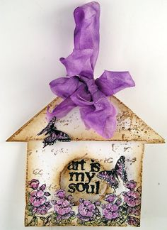 Suzzs Stamping Spot: Trio of Birdhouse Tags