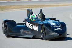 Nissan DeltaWing: La apuesta radical de Nissan para las 24 Horas de Le Mans