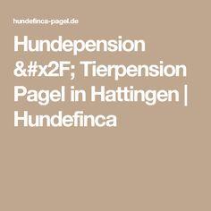 Hundepension / Tierpension Pagel in Hattingen | Hundefinca