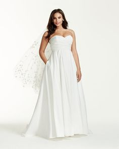 Affordable Plus-Size Wedding Dresses | POPSUGAR Fashion