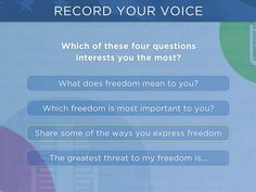 Add Your Voice | Second Story