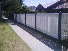5 Attractive Tips: Fence Lighting Led wooden fence cottage.Modern Fence With Brick easy fence pictures. Home Fencing, Garden Fencing, Bamboo Fence, Cedar Fence, Concrete Fence, Fence Landscaping, Backyard Fences, Pool Fence, Front Yard Fence