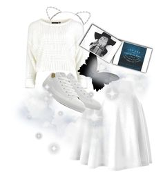 """""""""""You Are The Light Of The World"""" (Quote)"""" by fashionlifeforevaaa ❤ liked on Polyvore featuring Converse and Lipsy"""
