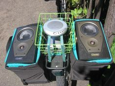 """Picture of DIY """"Street Party Bicycle Stereo"""" anyone can easily build with minimal tools (instructables)"""