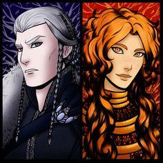 The Silmarillion - Tilion and Arien by Netmors