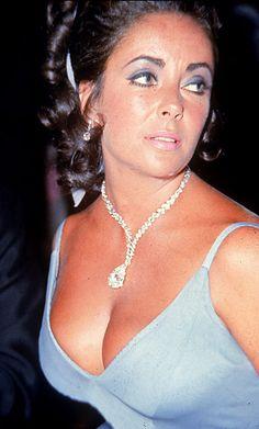Elizabeth Taylor - Jewelry - Taylor-Burton Diamond - Cartier