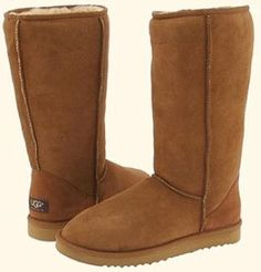 Plain Chestnut Brown Tall UGGS. So Comfy! #cyber_monday #uggs