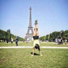 Handstand Eiffel Holds  #crossfit #crossfitgirls #handstand #handstandholds #paris #france #travel - http://girlsworkhard.com/handstand-eiffel-holds-crossfit-crossfitgirls-handstand-handstandholds-paris-france-travel/