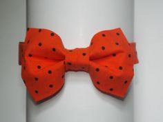 Halloween Bow Tie CHOOSE YOUR SIZE by TheMustacheManShop on Etsy