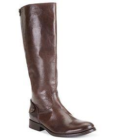 Frye Women's Melissa Button Back Zip Wide Calf Boots - Boots - Shoes - Macy's