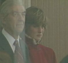 Lady Diana Spencer. They say this was the first time she found out about Camilla before the wedding took place. So sad.