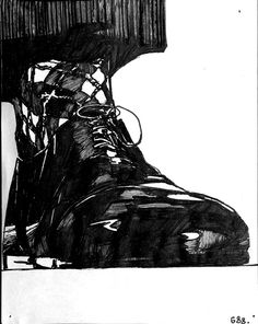 #688, Gravity's Rainbow, 2004?, Zak Smith, USA Tornados, Gravity's Rainbow, Observational Drawing, Object Drawing, Cornelius, Illustrators, Art Drawings, Black And White, Heavy Weights