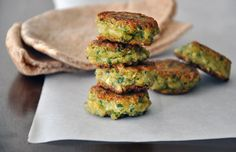 Homemade Falafel with Tahini Sauce | http://www.justataste.com/2011/08/homemade-falafel-with-tahini-sauce/