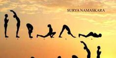 Does Surya Namaskar Help In Weight Loss? Surya Namaskar is an ancient practice of worshipping the sun early in the morning, It can help you lose weight. International Yoga Day Images, Yoga Benefits, Health Benefits, Yoga Day Quotes, Yoga Background, Surya Namaskara, Shoulder Tension, Join A Gym, Improve Posture