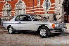 Mercedes-Benz mid-range coupé 1976-1986 (C 123 series).