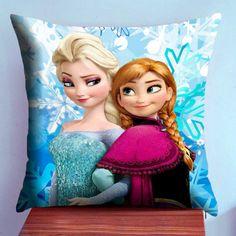 Disney Frozen Elsa and Anna  Case2Pillow  Pillow by Case2Pillow, $13.95
