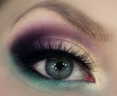 Cream of the Crop, Emerald, and Marooned in Paradise Embellish Mineral Cosmetic Eye Shadow. www.embellishmylook.com