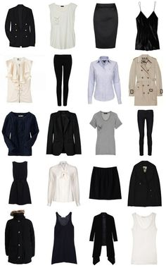wardrobe essentials - the basics