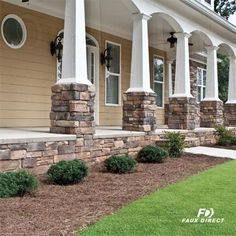 We have a way for you to take your landscaping to a whole new level: through the use of faux stone and brick panels.