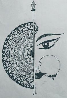 Mandala Art Therapy, Mandala Art Lesson, Mandala Artwork, Easy Mandala Drawing, Doodle Art Drawing, Mandala Sketch, Design Art Drawing, Simple Mandala, Drawing Ideas