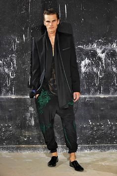 Haider Ackermann Men's Wardrobe