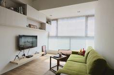 客廳 by yi - DECOmyplace Projects New Condo, My House, Loft, House Design, Living Room, Interior Design, Deco, Projects, Reading Corners