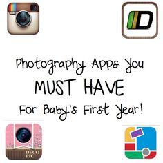 10 Best iPhone Apps to Photograph Your Baby!