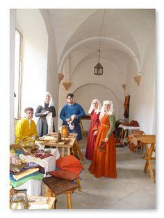Underbara medeltida färgkombinationer!