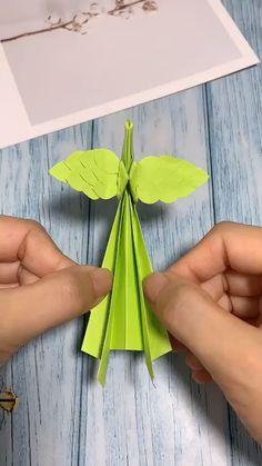 DIY Waving Wing Reborn Phoenix - Manualidades y Bricolaje Ropa Diy Crafts Hacks, Diy Crafts For Gifts, Diy Arts And Crafts, Creative Crafts, Crafts For Kids, Diy Projects, Diys, Kids Diy, Instruções Origami