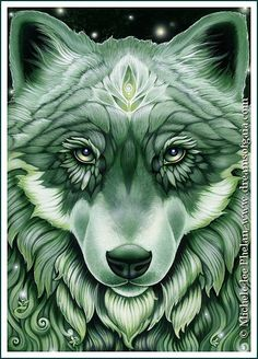 Iris is the guardien of the forest. And she partect all that are in it. She is twice the size of a nomal wolf but alway treats others equally.