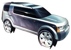 Land Rover Discovery 3 | Sketch by Andy Wheel