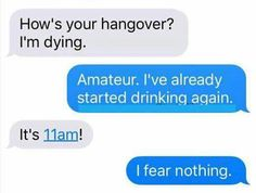 Me asf, you can't feel hungover if you keep drinking ‍♀️ @strangenunusualx