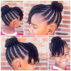 with curly hair and bangs natural hairstyles for short hair hairstyles baby hairstyles how to do hairstyles pics hairstyles mens 2019 quickweave hairstyles hair vitamins Toddler Braided Hairstyles, Lil Girl Hairstyles, Black Kids Hairstyles, Natural Hairstyles For Kids, My Hairstyle, Hairstyle Ideas, Curly Hairstyles, Updo Curly, Hair Ideas