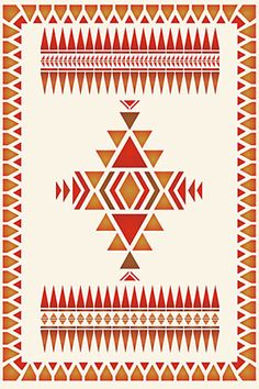 Native American Border Designs North Plains Border