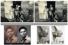 jillysb: do a photo restoration for $5, on fiverr.com Photo Repair, Photo Restoration, Old Photos, Polaroid Film, Old Pictures, Vintage Photos, Old Photographs