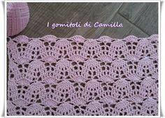 Fancy stitch with alternating stemware: crochet stitches and cues Crochet Star Stitch, Crotchet Stitches, Tunisian Crochet, Knitting Stitches, Knitting Patterns, Crochet Hook Sizes, Crochet Chart, Crochet Motif, Crochet Designs