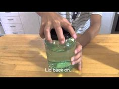 Make a tornado in a jar science trick - YouTube