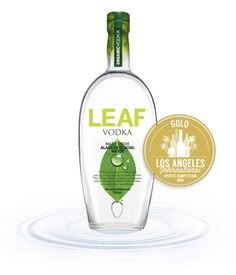2014 Los Angeles International Spirits Competition   LEAF Vodka made from Alaskan Glacial Water received 91 Points and a Gold Medal in this year's competition #leafvodka #vodka #gold #la #losangeles