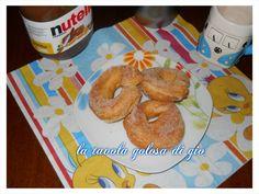 ciambelle zucchero e cannella