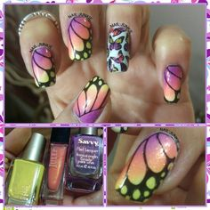 butterfly wings to welcome spring tomorrow.
