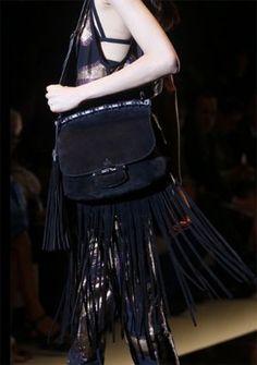 GUCCI bag spring summer 2014 tassel black.
