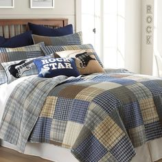 Rock On 3 Piece Full/Queen Quilt Set