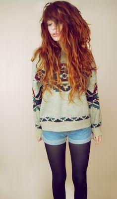 I want her haaaiiiiir and the sweater!