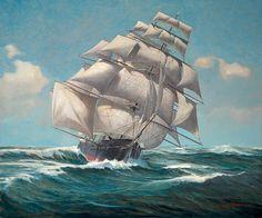 The Marine Art Prints Nautical Oil Paintings and Maritime Scenes of Nova Scotia…
