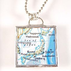 Japan Map Pendant, maybe I should get one since it is my home contry!