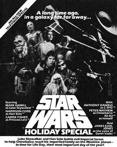 Star Wars Holiday Special, Star Wars Christmas Special, Star Wars Films, STAR…