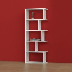 Matte Tapi Bookshelf by Decortie.  Avaiable in four colors, $489 !! Check out what's on sale at TouchOfModern