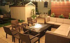fire pit garden patio
